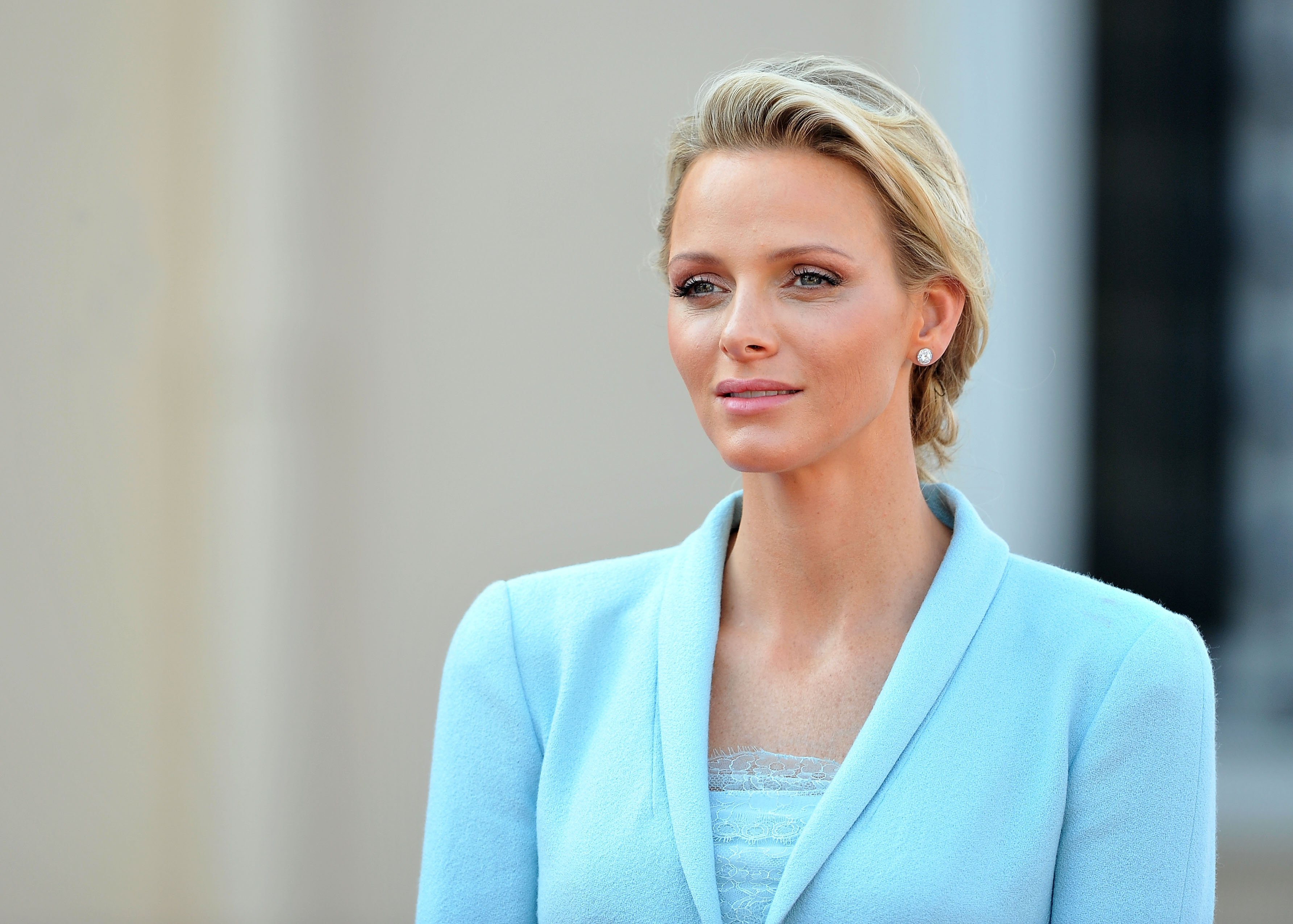 Princess Charlene of Monanco following the civil ceremony of her marriage to Prince Albert on July 1, 2011 in Monaco. | Photo: Getty Images.