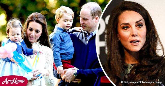 Kate Middleton kämpft mit den selben Dingen wie andere Mütter