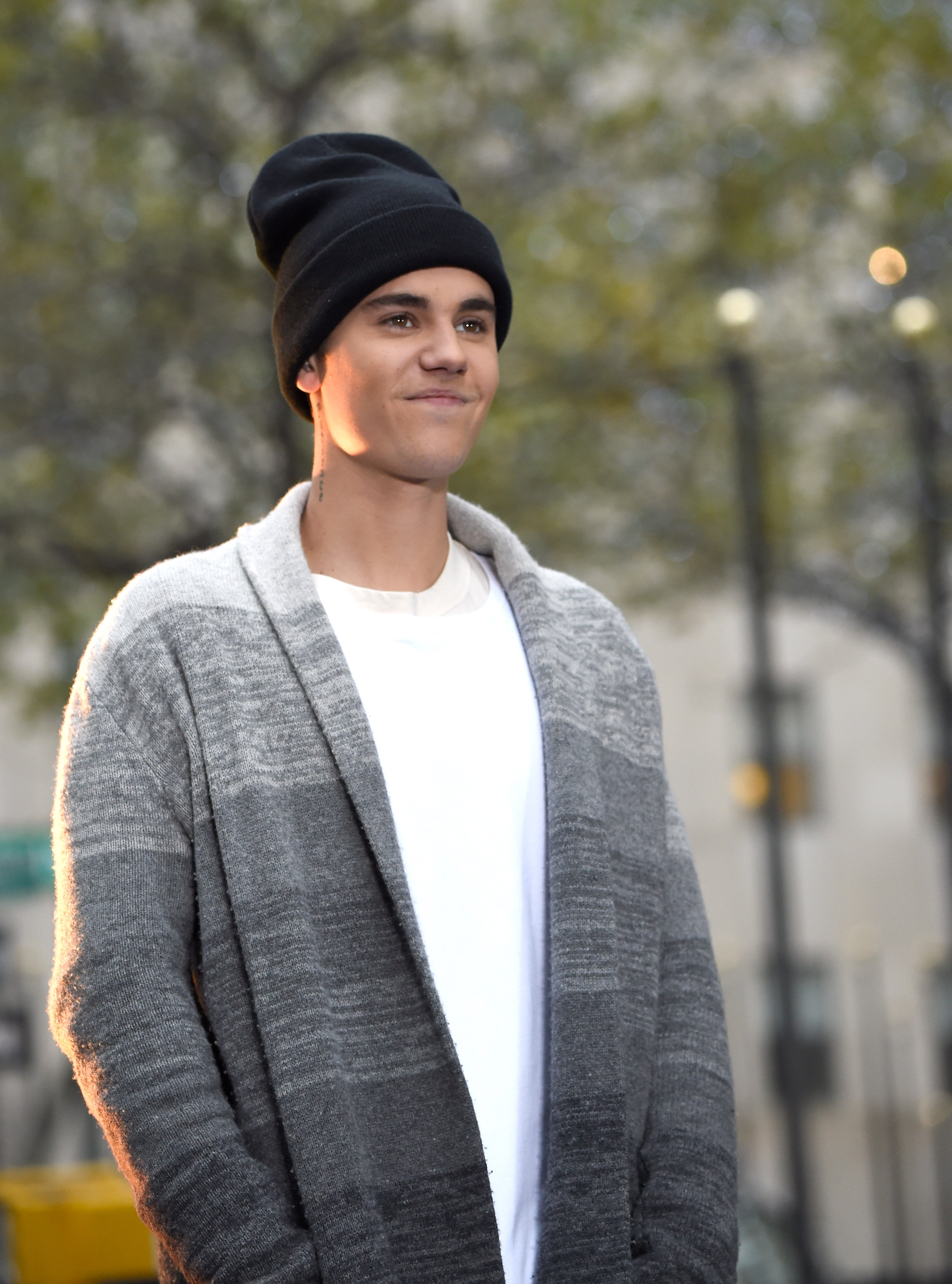 Justin Bieber performs on the Citi Concert Series on TODAY at Rockefeller Center on November 18, 2015 in New York City | Photo: Getty Images