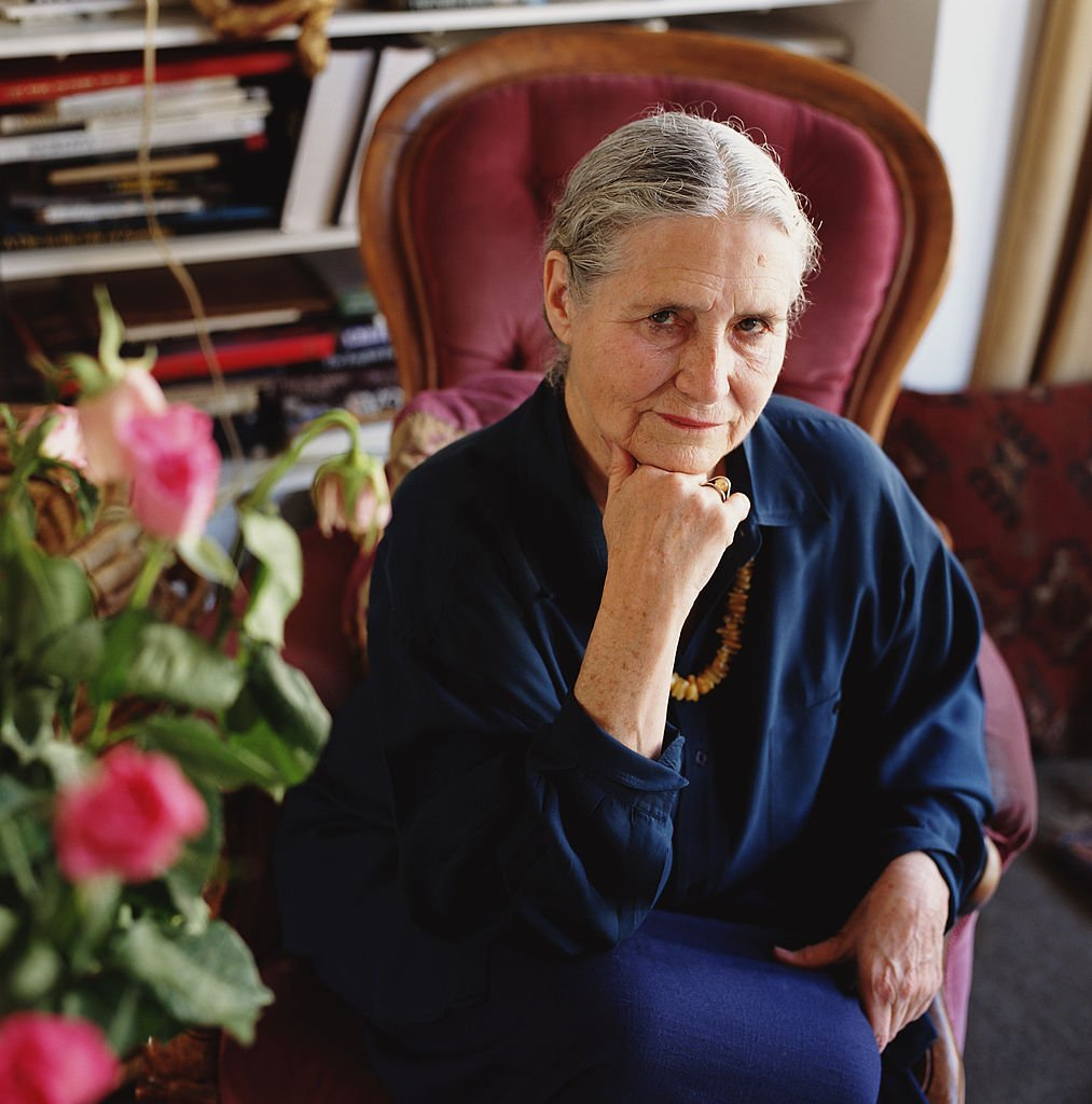 Writer Doris Lessing at home on October 10, 1994 in West Hampstead, London.  | Getty Images