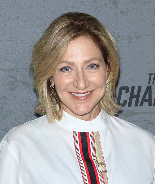 "Actress Edie Falco at the ""The Game Changers"" New York premiere in New York City. 