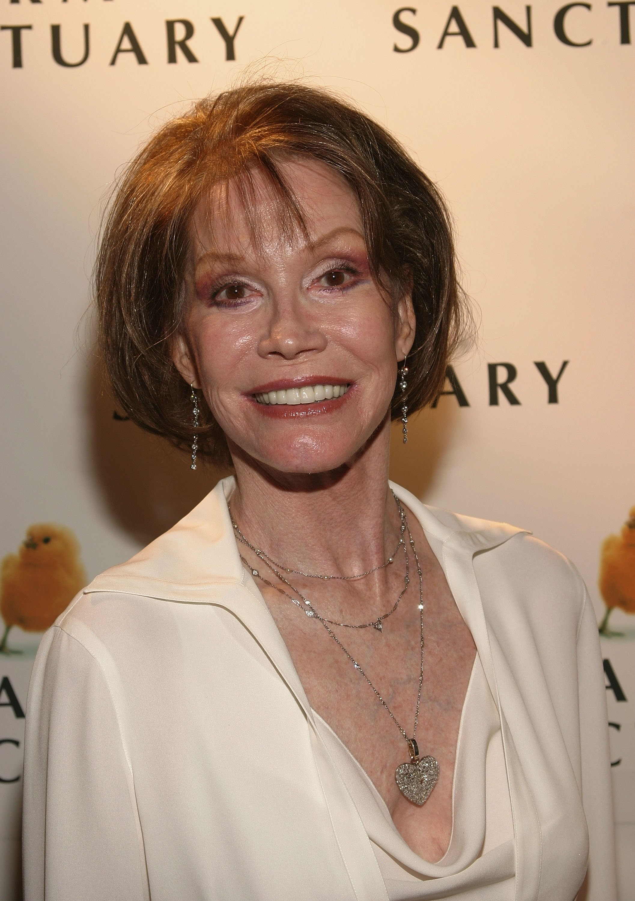 Mary Tyler Moore attends the Farm Sanctuary Gala on May 22, 2004 | Photo: GettyImages