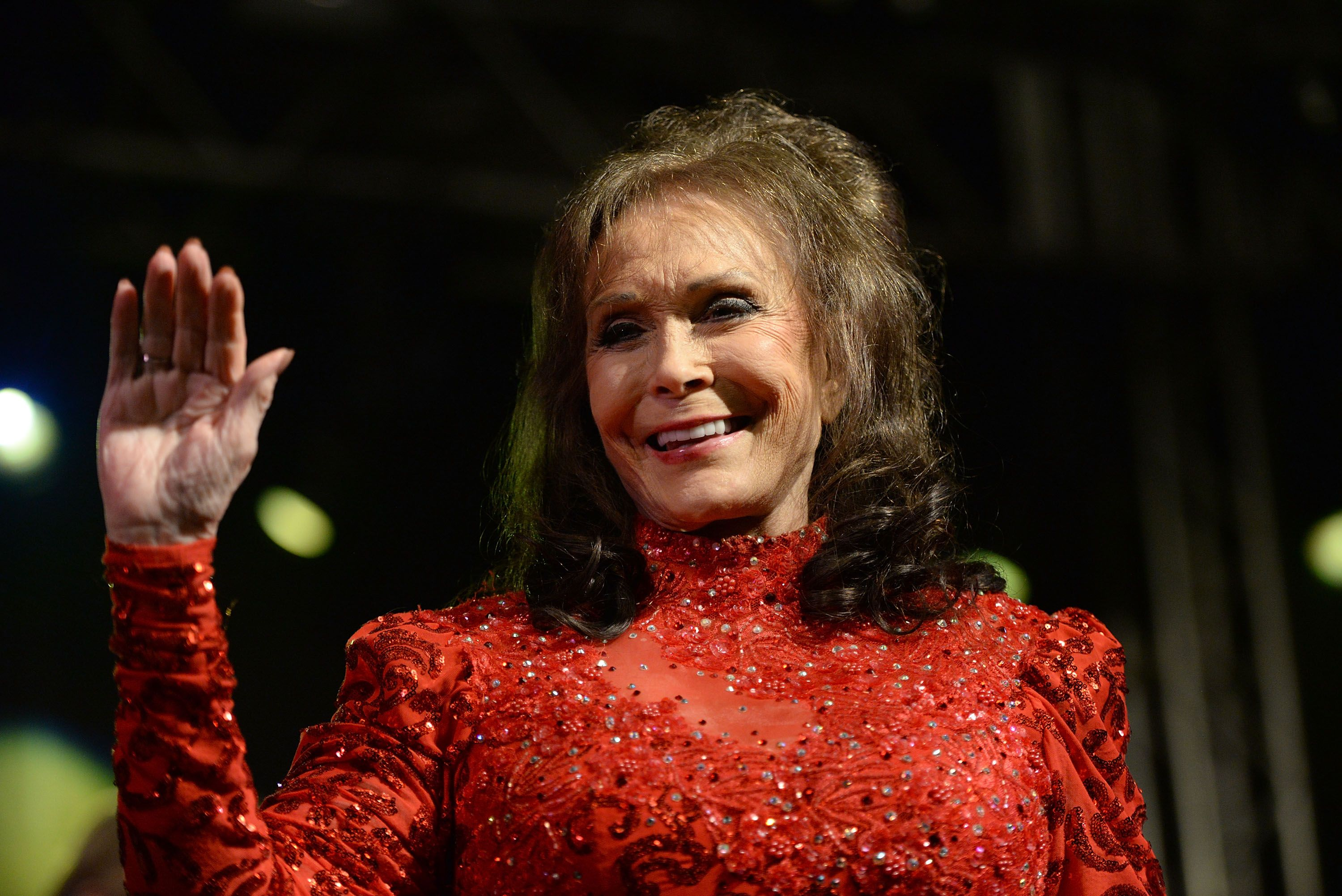 Loretta Lynn performs onstage at Stubbs on March 17, 2016 in Austin, Texas.   Source: Getty Images