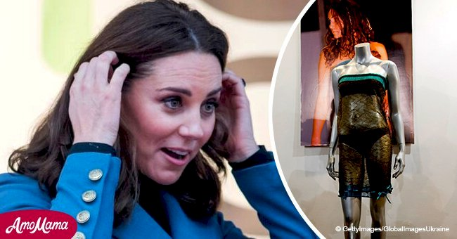 Kate Middleton's see-through dress she wore at 2002 college fashion show seduced Prince William