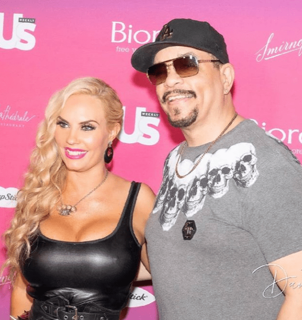 """Ice-T and Coco attending the Us Weekly """"Most Fashionable New Yorkers"""" Party 