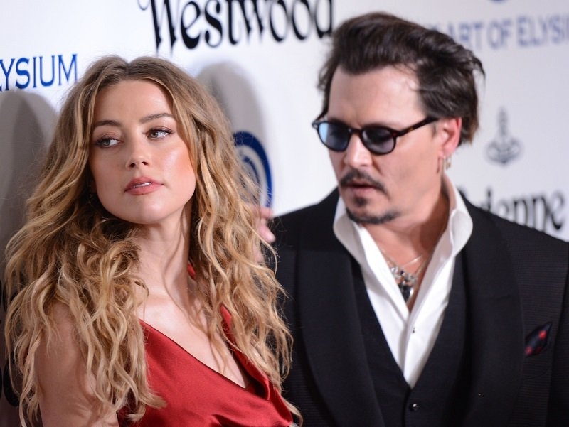 Amber Heard and Johnny Depp on January 9, 2016 in Culver City, California | Photo: Getty Images