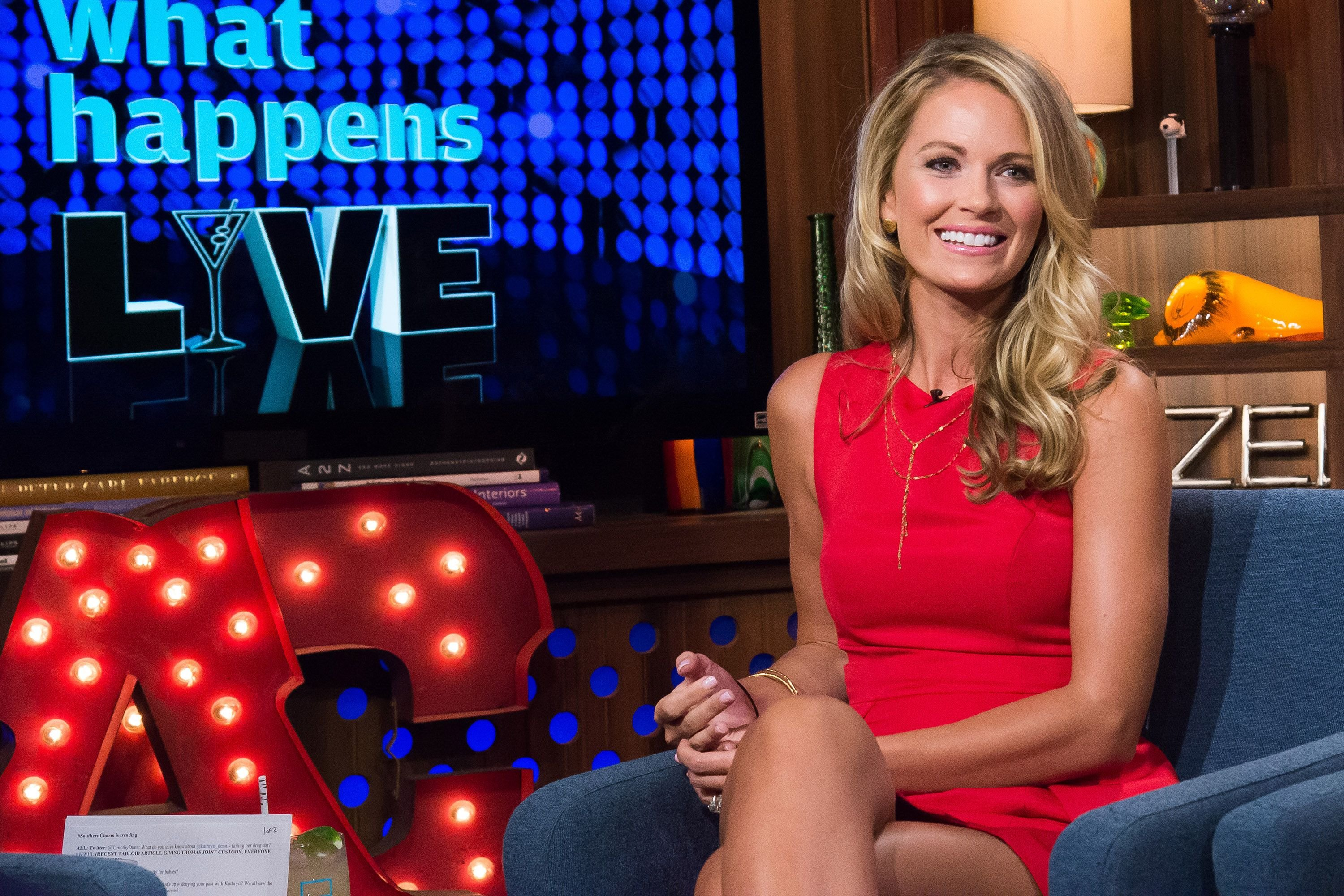 """Southern Charm"" reality star Cameran Eubanks on ""Watch What Happens Live"" in 2016 