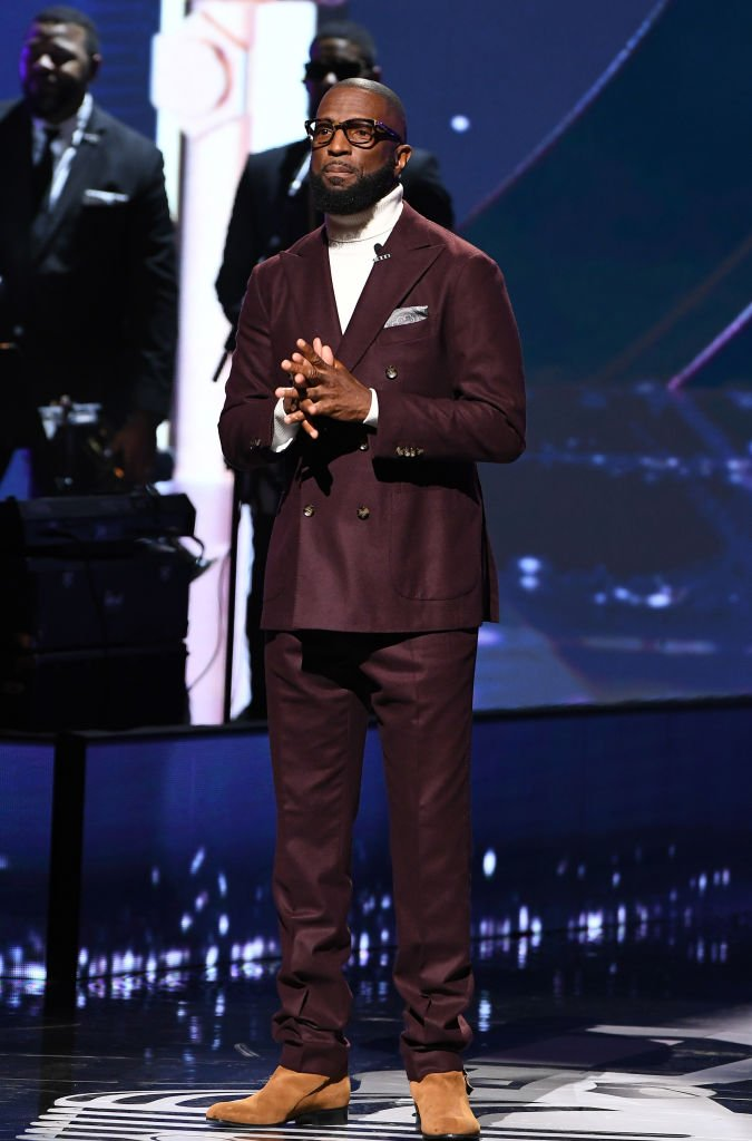 Rickey Smiley speaks onstage during the Black Music Honors on September 05, 2019, in Atlanta, Georgia | Source: Paras Griffin/Getty Images for Black Music Honors
