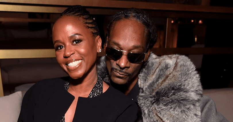 Snoop Dogg's Wife of 23 Years Shante Broadus Shows off Her Legs in Black Tights & Yellow Sneakers in New Pics