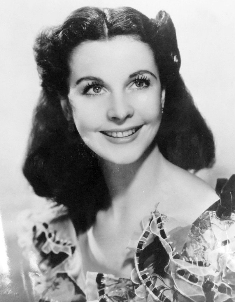 "Vivien Leigh as Scarlet O'Hara on ""Gone with the Wind,"" 