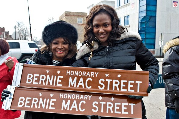 Rhonda McCullough and Je'Niece McCullough on February 28, 2012 in Chicago, Illinois.   Photo: Getty Images