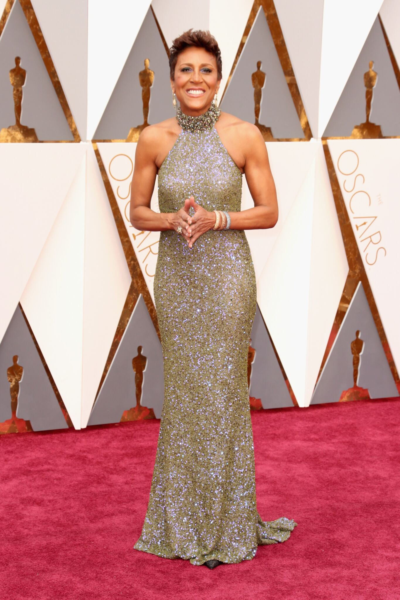 Robin Roberts attends the 88th Annual Academy Awards at Hollywood & Highland Center | Getty Images
