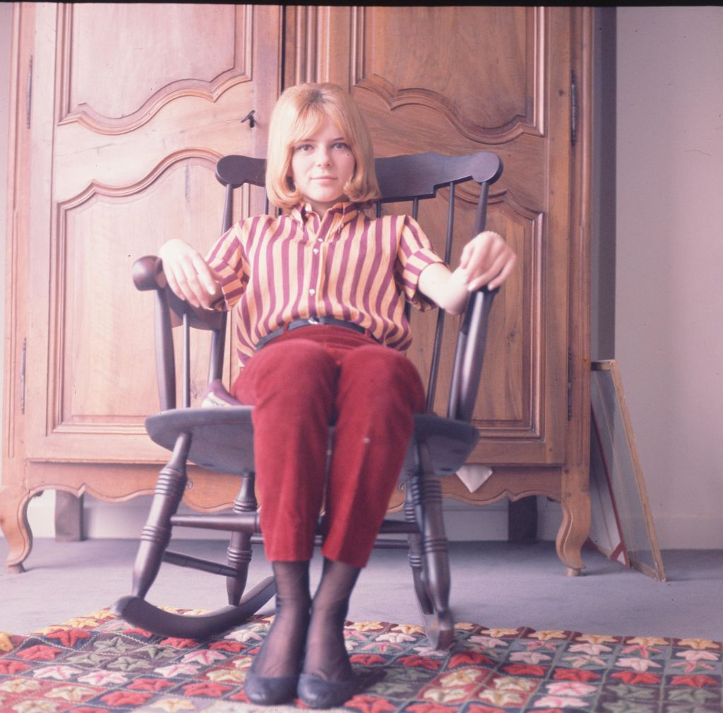 France Gall, la mère de Raphaël Hamburger, en 1965. l Source : Getty Images
