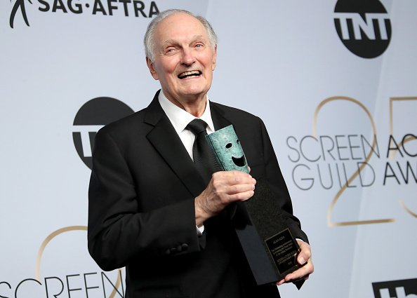 Alan Alda at the SAG Awards on Jan. 27, 2019 in Los Angeles, California | Photo: Getty Images