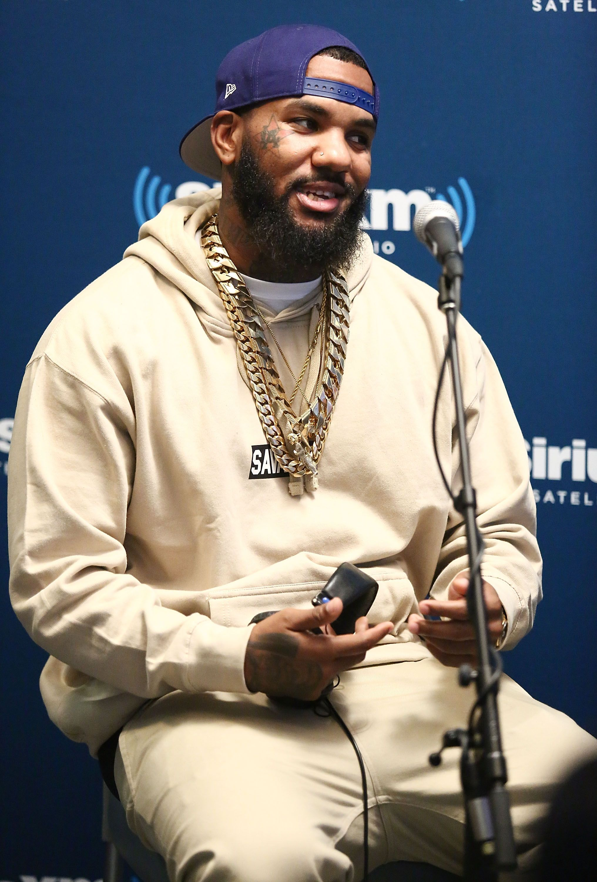 Rapper The Game visits the SiriusXM Studios | Photo: Getty Images