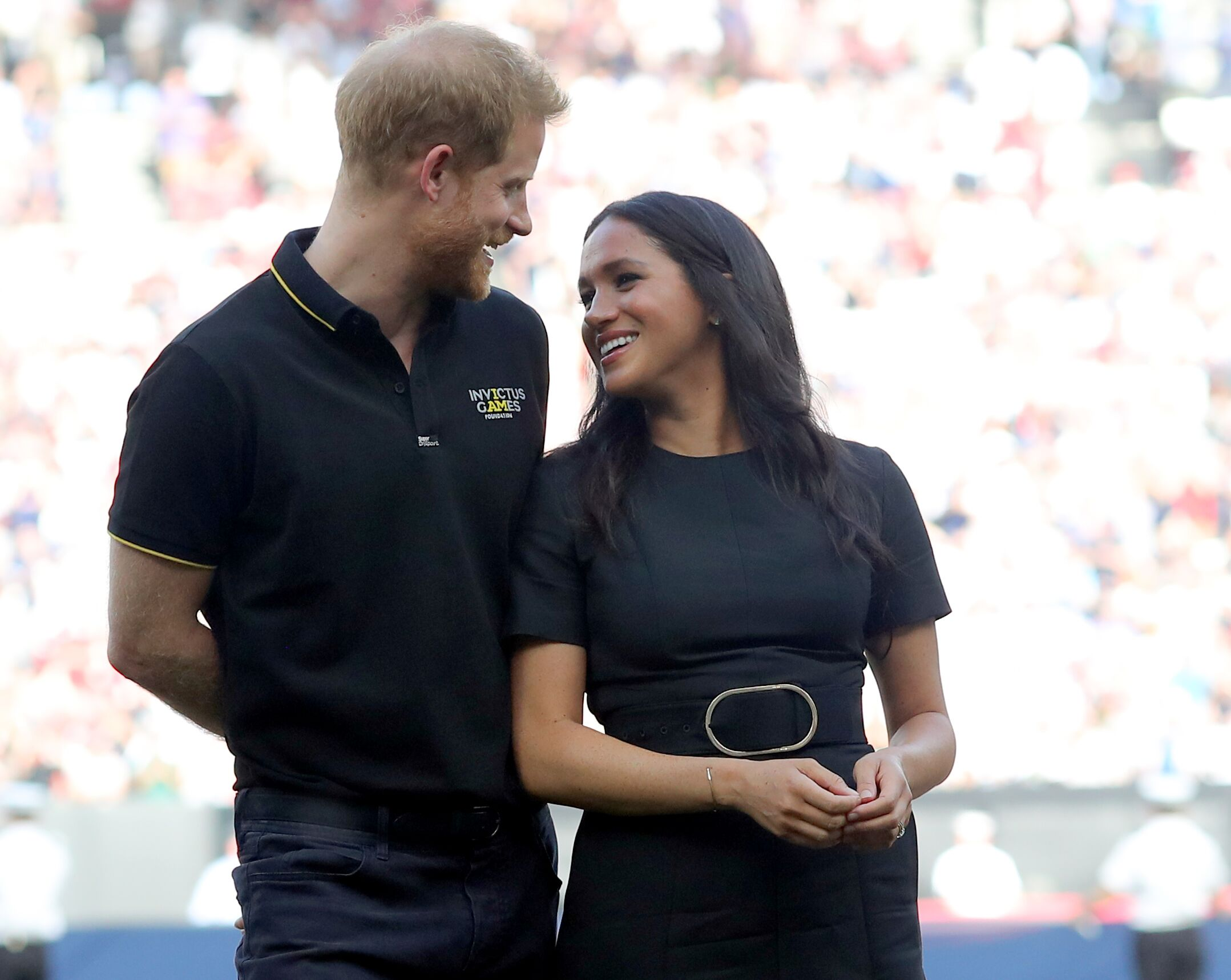 Prince Harry and Meghan Markle at the Invictus Games. | Source: Getty Images