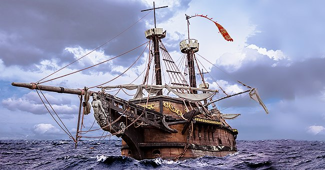 Daily Joke: Brave Captain and His Sailor Crew Were Sailing the Ocean
