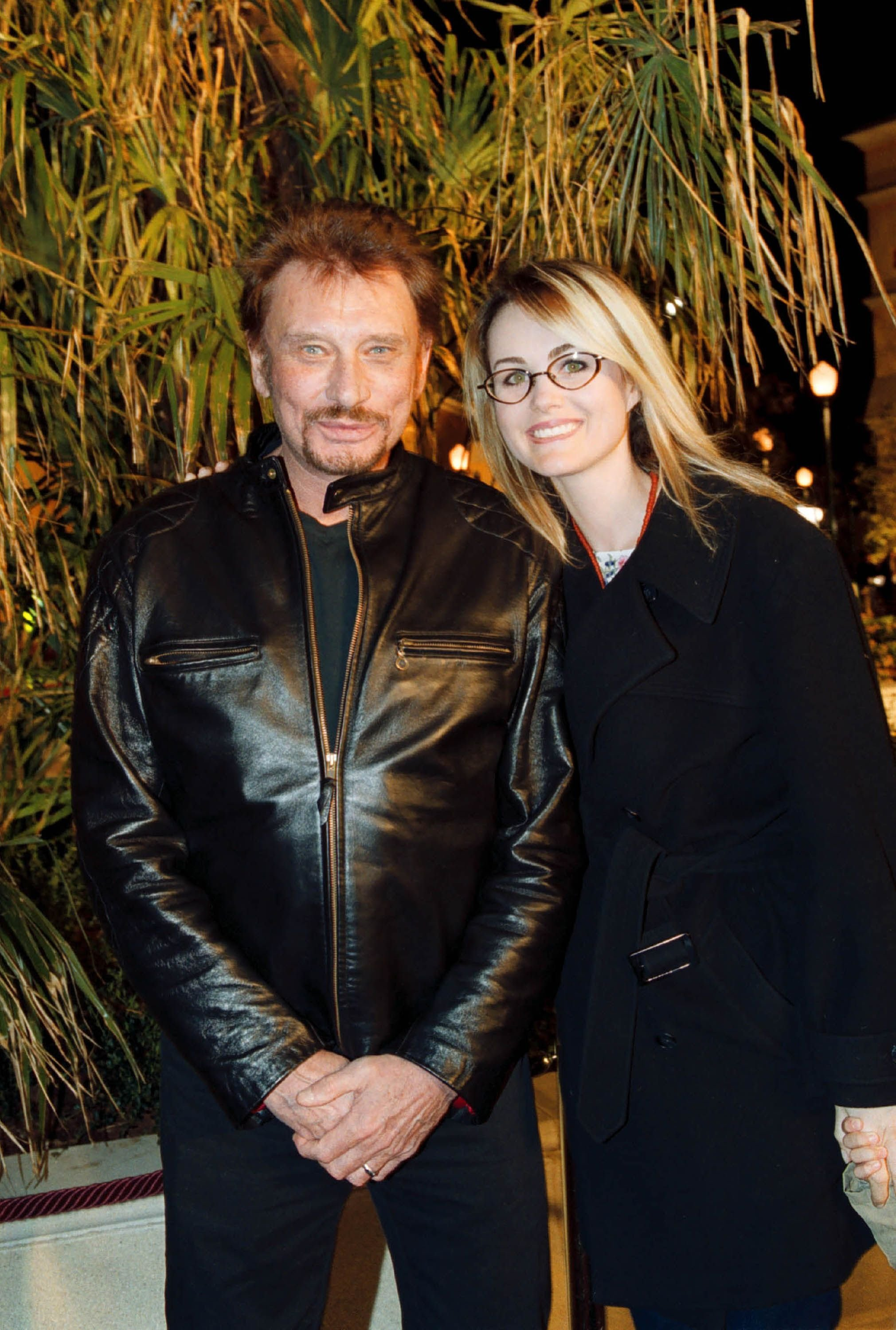 Johnny Hallyday et sa compagne Laeticia Hallyday | Photo : Getty Images