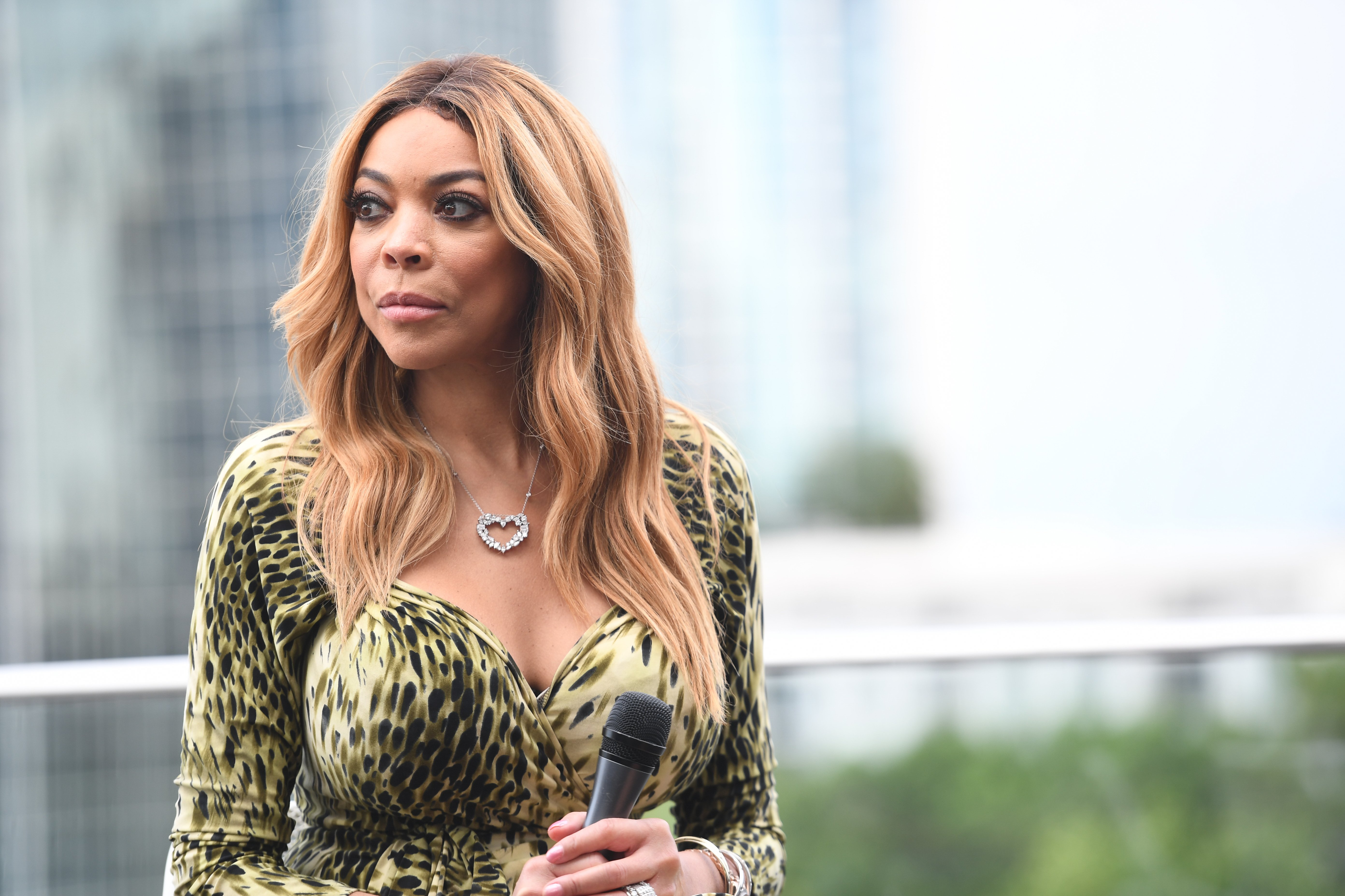 Wendy Williams le 29 août 2017. l Source : Getty Images