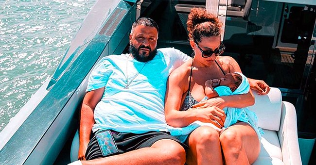 Dj Khaled Shares Beautiful Candid Photos from Family Vacation on Board a Yacht