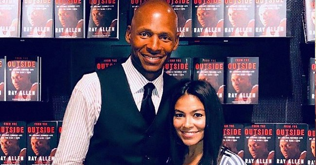 Ray Allen's Wife Shannon Celebrates Spouse Day with Sweet Photo Posing with Her Husband