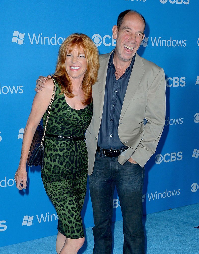 Miguel Ferrer and his wife Lori Weintaub. I Image: Getty Images.