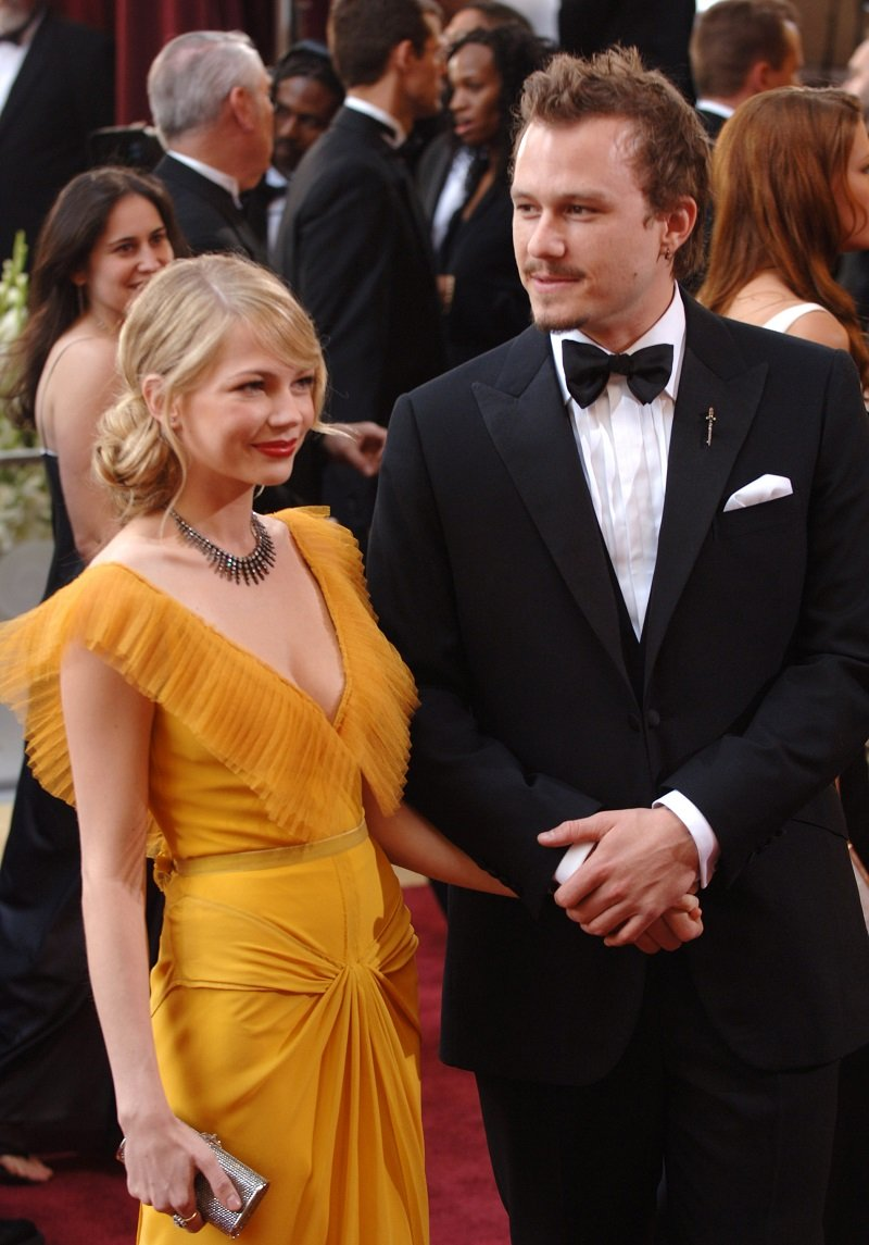 Michelle Williams and Heath Ledger at the he 78th Annual Academy Awards on March 5, 2006.   Photo: Getty Images