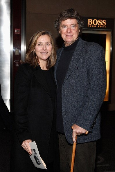 Meredith Vieira and Richard Cohen at Lincoln Center on January 12, 2012 in New York City. | Photo: Getty Images