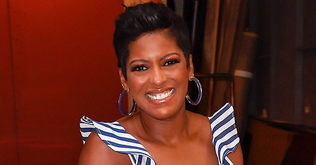 Tamron Hall's Curly-Haired Son Moses Proves He Has Her Eyes as He Celebrates His 2nd Birthday