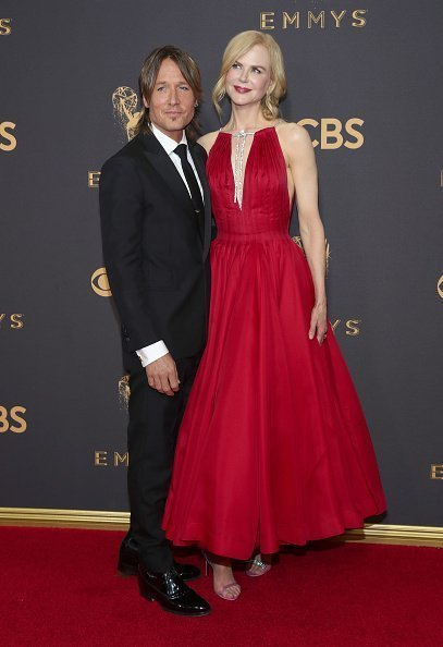 Keith Urban and Nicole Kidman at the 69th annual Primetime Emmy Awards on September 17, 2017 in Los Angeles | Source: Getty images