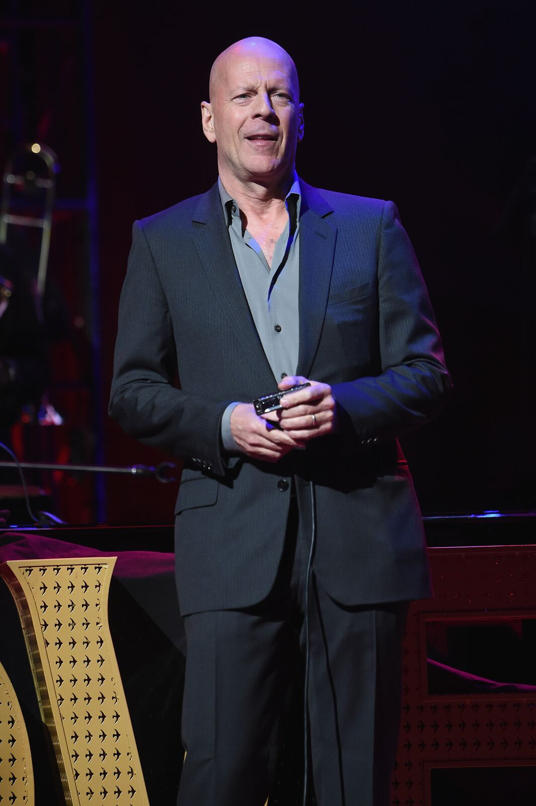 """Bruce Willis at """"Love Rocks NYC! A Change is Gonna Come: Celebrating Songs of Peace, Love and Hope"""" held at Beacon Theatre on March 9, 2017, in New York City 