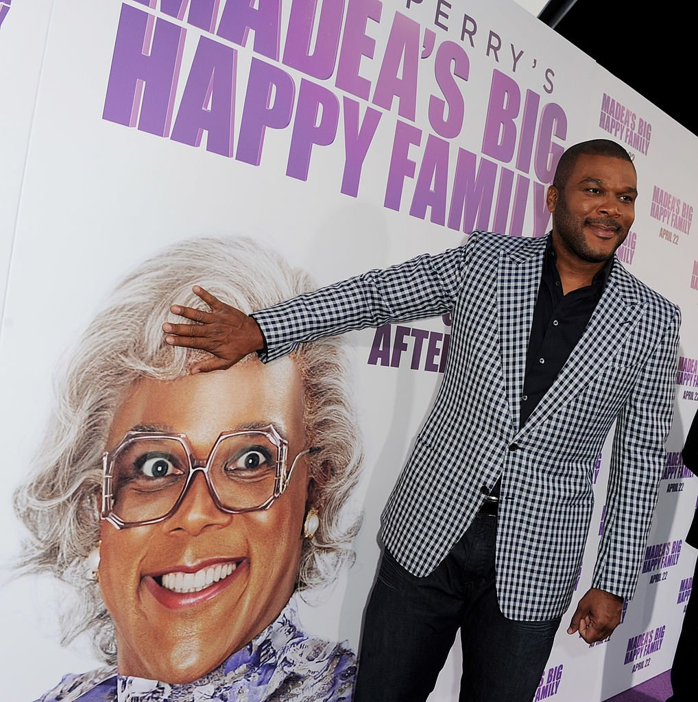 "Tyler Perry  at a screening of ""Tyler Perry's Madea's Big Happy Family"" on April 19, 2011 
