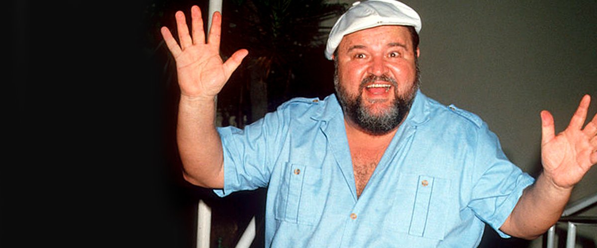 Dom DeLuise at Spago Restaurant in Hollywood on September 28, 1987 | Photo: Getty Images
