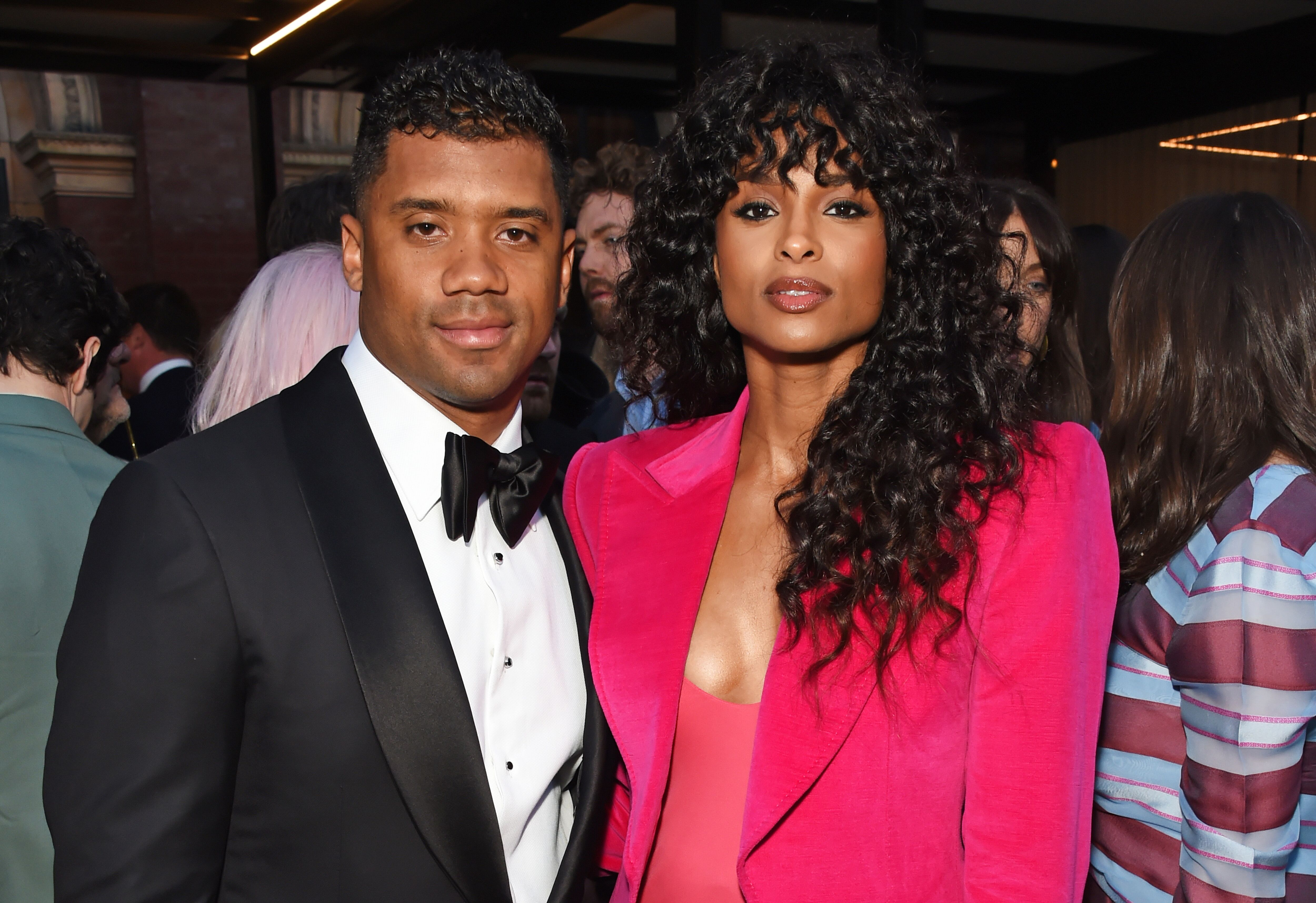 Russell Wilson (L) and Ciara attend the Summer Party at the V&A in partnership with Harrods at the Victoria and Albert Museum on June 20, 2018 | Photo: Getty Images