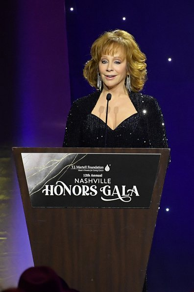 Reba McEntire at Omni Hotel on February 24, 2020 in Nashville, Tennessee.   Photo: Getty Images