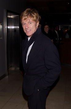 Robert Redford en fiesta de estreno de The Legend of Bagger Vance en Guastavino's, en New York, octubre del 2000. | Fuente: Getty Images.