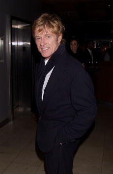 Robert Redford during the party for the premiere of The Legend of Bagger Vance at Guastavino's in New York on October 9, 2000. | Source: Getty Images.