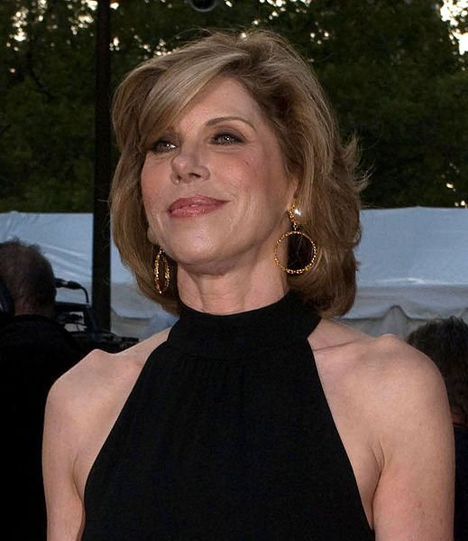Christine Baranski at the Metropolitan Opera opening in 2008. | Source: Wikimedia Commons