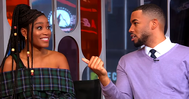 Mike Johnson of 'The Bachelorette' Blatantly Asks Keke Palmer out on a Date on Live TV