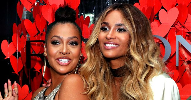 Ciara Performs New Song 'Melanin' with Special Guest La La Anthony during the 2019 AMAs