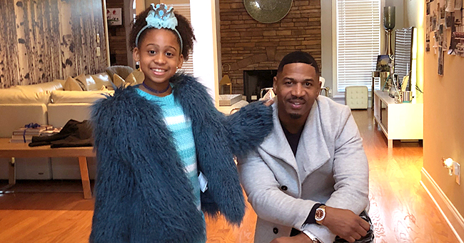 Stevie J Enjoys Night out with Wife & Daughter Eva at Power of Women Gala (Photos)