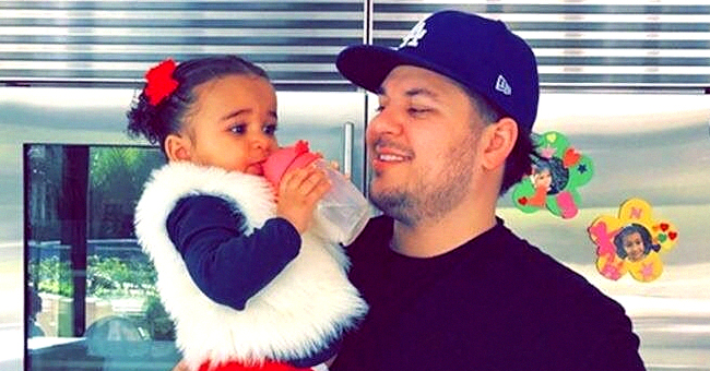 Rob Kardashian's Daughter Dream Transformed into Poppy from 'Trolls' for Halloween in Photo Shared by Dad