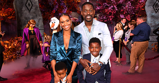 Sterling K Brown & Wife Ryan Michelle Bathe Make Public Appearance with Their Sons at 'Frozen II' Premiere