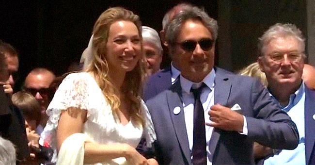 La surprise des fans de Johnny Hallyday au mariage de Laura Smet