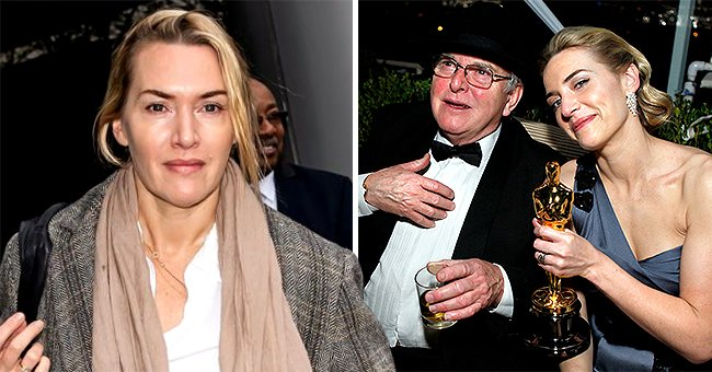 'Titanic' Star Kate Winslet Confirms Dad Roger, 81, Received 1st Dose of COVID-19 Vaccine