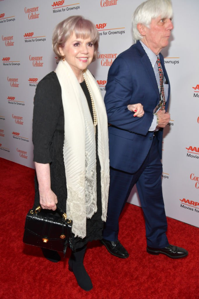 Linda Ronstadt and John Boylan attend AARP The Magazine's 19th Annual Movies For Grownups Awards on January 11, 2020. | Photo: Getty Images