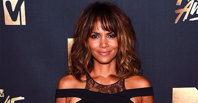 Halle Berry Shows off Toned Body in a Poolside Snap