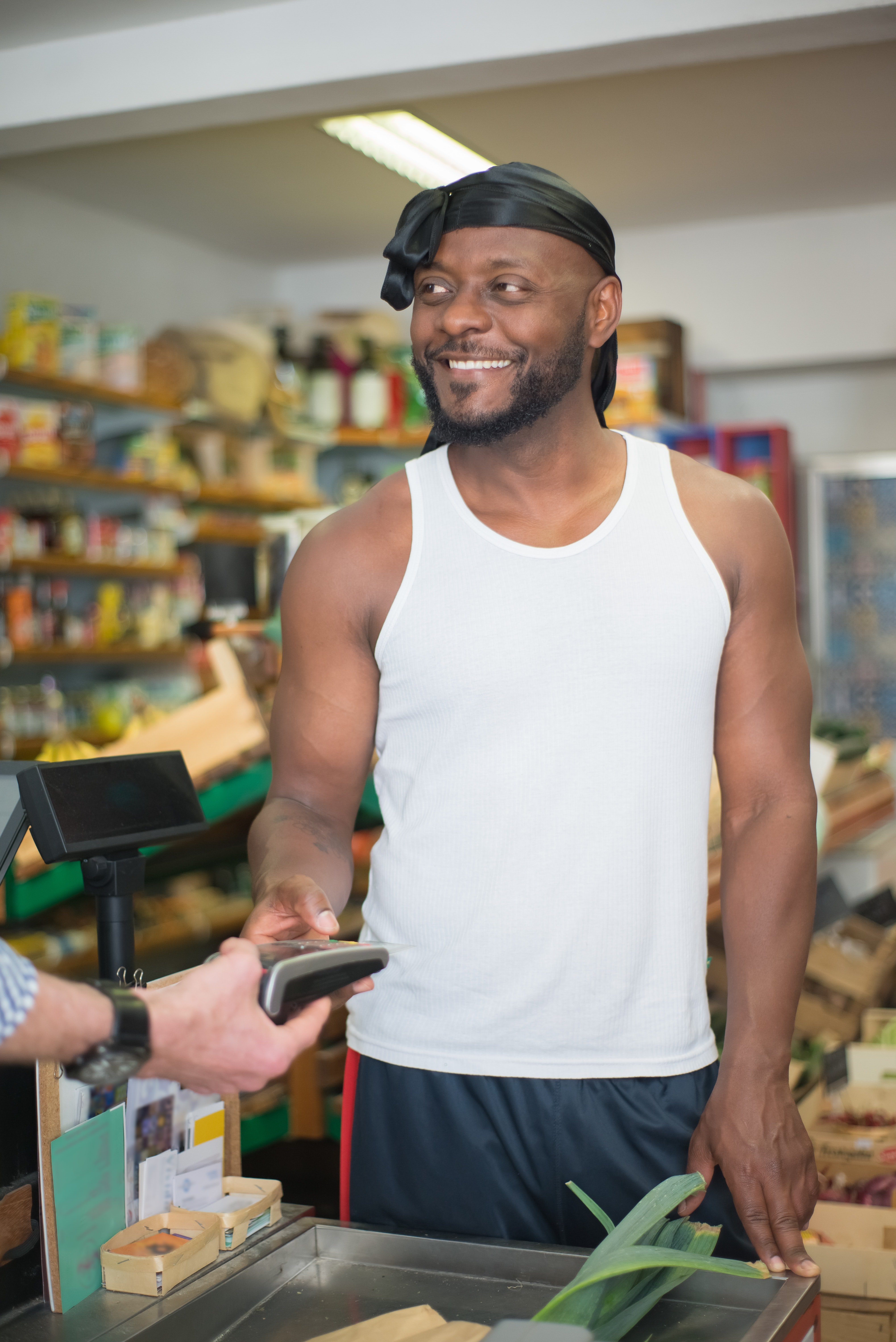 The customer asked the store clerk why he didn't answer the man's question.   Photo: Pexels/Kampus Production
