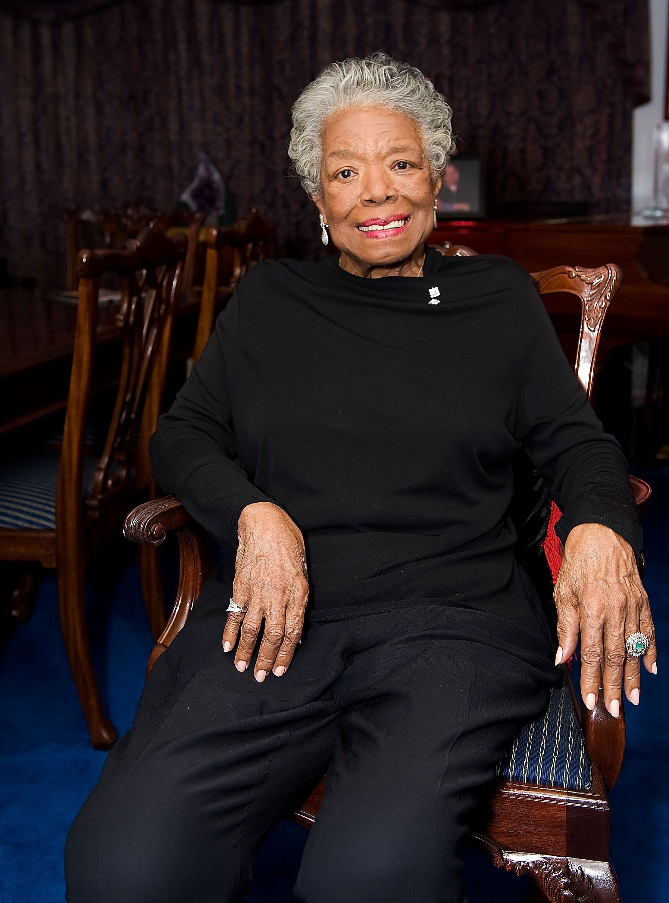 Maya Angelou during the Special Recognition Event for Dr. Maya Angelou at Dr. Angelou's home June 21, 2010 in Winston-Salem, North Carolina. | Source: Getty Images
