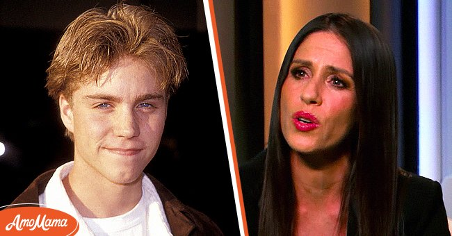 Soleil Moon Frye in an interview with Drew Barrymore in March 2021 and Jonathan Brandis in 1994 | Photo: YouTube.com/TheDrewBarrymoreShow - Getty Images